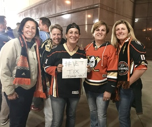 Dawn attended Anaheim Ducks vs. Vegas Golden Knights - NHL on Nov 22nd 2017 via VetTix