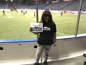Lisa attended Ontario Fury vs. Soles De Sonora - MASL on Jan 26th 2018 via VetTix