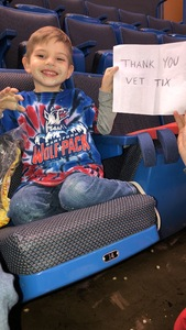 Maryann attended Hartford Wolf Pack vs. Rochester Americans - AHL on Mar 18th 2018 via VetTix