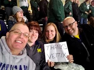 Garrett attended Michigan State vs. Michigan - NCAA Hockey on Feb 9th 2018 via VetTix