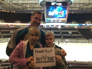Phillip attended San Jose Barracuda vs. Tucson Roadrunners - AHL - Afternoon on Mar 25th 2018 via VetTix