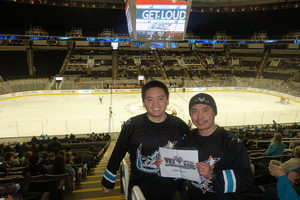 Raul attended San Jose Barracuda vs. Tucson Roadrunners - AHL - Afternoon on Mar 25th 2018 via VetTix