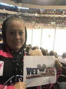 Tara attended Kansas City Mavericks vs. Allen Americans - ECHL on Dec 10th 2017 via VetTix