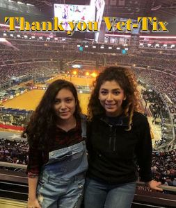 Tony V. attended PBR Iron Cowboy on Feb 24th 2018 via VetTix