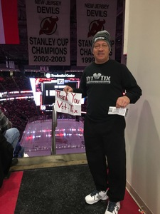 ronald attended New Jersey Devils vs. Philadelphia Flyers - NHL on Jan 13th 2018 via VetTix
