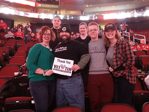 Mark attended New Jersey Devils vs. Philadelphia Flyers - NHL on Jan 13th 2018 via VetTix