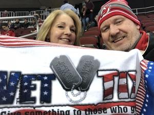 Robert attended New Jersey Devils vs. Nashville Predators - NHL on Jan 25th 2018 via VetTix