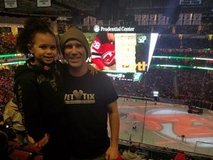 Justin attended New Jersey Devils vs. Nashville Predators - NHL on Jan 25th 2018 via VetTix