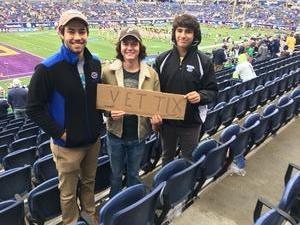 Robert attended Citrus Bowl Presented by Overton's - Notre Dame Fighting Irish vs. LSU Tigers - NCAA Football on Jan 1st 2018 via VetTix