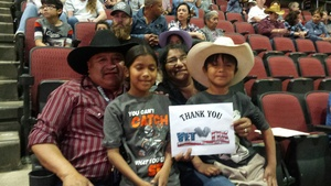 Wil attended PBR Built Ford Tough Series vs. PBR Professional Bull Riders - Friday on Mar 23rd 2018 via VetTix
