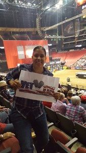 Anne attended PBR Built Ford Tough Series vs. PBR Professional Bull Riders - Friday on Mar 23rd 2018 via VetTix