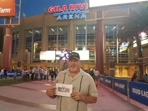 ken attended PBR Built Ford Tough Series vs. PBR Professional Bull Riders - Friday on Mar 23rd 2018 via VetTix