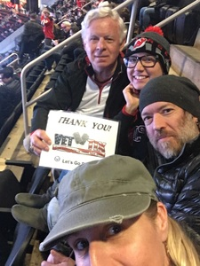 Bob Paley attended New Jersey Devils vs. Montreal Canadians - NHL on Mar 6th 2018 via VetTix