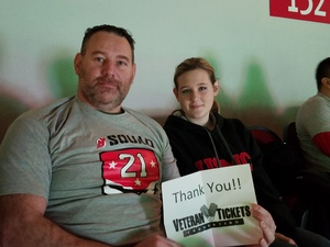 Richard attended New Jersey Devils vs. Montreal Canadians - NHL on Mar 6th 2018 via VetTix