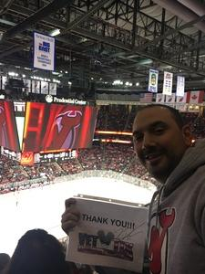 Kevin attended New Jersey Devils vs. Montreal Canadians - NHL on Mar 6th 2018 via VetTix