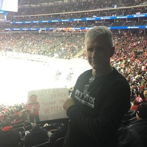 roy attended New Jersey Devils vs. Montreal Canadians - NHL on Mar 6th 2018 via VetTix