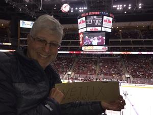 Alan attended Arizona Coyotes vs. San Jose Sharks - NHL on Jan 16th 2018 via VetTix