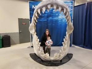 Katie attended Discover the Dinosaurs - Time Trek - Presented by Vstar Entertainment on Jan 21st 2018 via VetTix