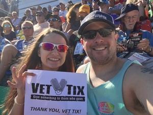 Joshua attended Daytona 500 - the Great American Race - Monster Energy NASCAR Cup Series on Feb 18th 2018 via VetTix