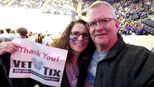 Gary attended Grand Canyon University vs. Chicago State - NCAA Men's Basketball - God Bless America Night on Feb 3rd 2018 via VetTix