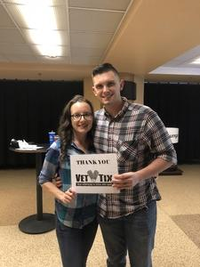 Douglas attended Brad Paisley - Weekend Warrior World Tour With Dustin Lynch, Chase Bryant and Lindsay Ell on Jan 27th 2018 via VetTix