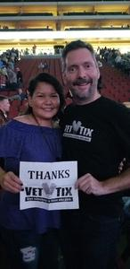 Jason attended Brad Paisley - Weekend Warrior World Tour With Dustin Lynch, Chase Bryant and Lindsay Ell on Jan 27th 2018 via VetTix