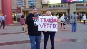 William Swatscheno  Family attended Brad Paisley - Weekend Warrior World Tour With Dustin Lynch, Chase Bryant and Lindsay Ell on Jan 27th 2018 via VetTix