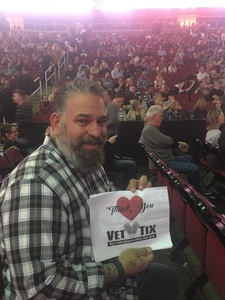 Brandon attended Brad Paisley - Weekend Warrior World Tour With Dustin Lynch, Chase Bryant and Lindsay Ell on Jan 27th 2018 via VetTix