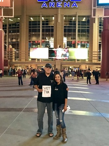 Ron attended Brad Paisley - Weekend Warrior World Tour With Dustin Lynch, Chase Bryant and Lindsay Ell on Jan 27th 2018 via VetTix