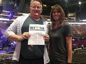 Jim attended Brad Paisley - Weekend Warrior World Tour With Dustin Lynch, Chase Bryant and Lindsay Ell on Jan 27th 2018 via VetTix