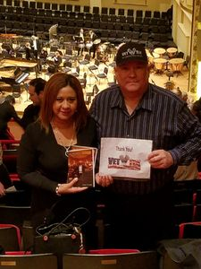 Fredrich attended Carmina Burana - Presented by the Saint Louis Symphony Orchestra on Feb 9th 2018 via VetTix