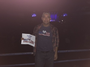 Robert attended Miranda Lambert Livin Like Hippies Tour on Feb 1st 2018 via VetTix