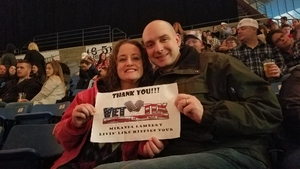 Dylan attended Miranda Lambert Livin Like Hippies Tour on Feb 1st 2018 via VetTix