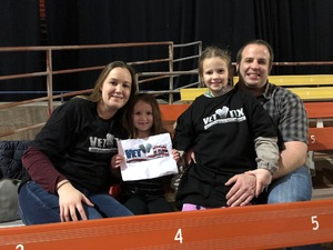 Joel attended Miranda Lambert Livin Like Hippies Tour on Feb 1st 2018 via VetTix