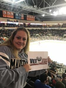 Tara attended Kansas City Mavericks vs. Cincinnati Cyclones - ECHL on Feb 2nd 2018 via VetTix