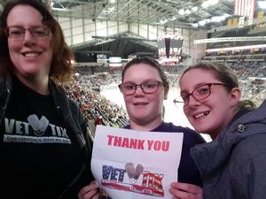Stacy attended Fort Wayne Komets vs. Rapid City Rush - ECHL on Feb 2nd 2018 via VetTix