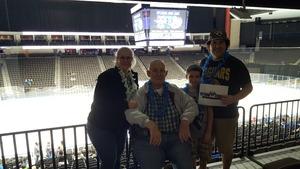 John attended Jacksonville Icemen vs. Atlanta Gladiators - ECHL on Feb 10th 2018 via VetTix