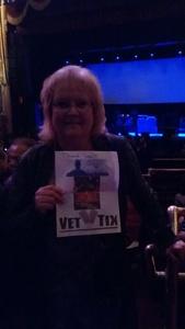 Eileen attended G3: Joe Satriani, John Petrucci (dream Theater), Phil Collen (def Leppard) on Feb 12th 2018 via VetTix