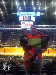 Jason attended Phoenix Suns vs. San Antonio Spurs - NBA on Feb 7th 2018 via VetTix