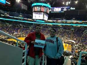 William attended Phoenix Suns vs. San Antonio Spurs - NBA on Feb 7th 2018 via VetTix