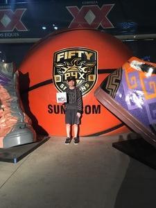 Randall attended Phoenix Suns vs. San Antonio Spurs - NBA on Feb 7th 2018 via VetTix