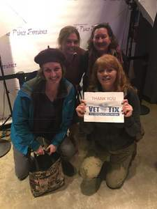 Trisha attended The Prince Experience on Feb 23rd 2018 via VetTix