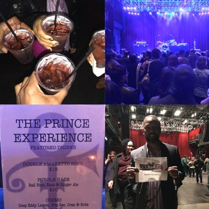 Roland attended The Prince Experience on Feb 23rd 2018 via VetTix
