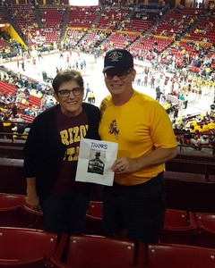 Tom attended Arizona State University Sun Devils vs. Stanford - NCAA Men's Basketball on Mar 3rd 2018 via VetTix