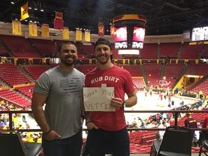 Frederick attended Arizona State University Sun Devils vs. Stanford - NCAA Men's Basketball on Mar 3rd 2018 via VetTix