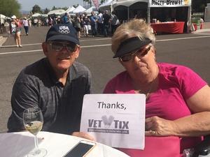 A. Jay attended Fountain Hills Fine Art & Wine Festival - Thunderbird Artists on Mar 23rd 2018 via VetTix