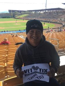 Erick attended Chicago White Sox vs. Texas Rangers - MLB Spring Training on Feb 28th 2018 via VetTix