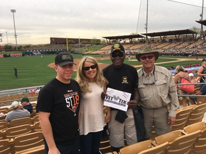James McCullough attended Chicago White Sox vs. Cincinnati Reds - MLB Spring Training on Mar 7th 2018 via VetTix