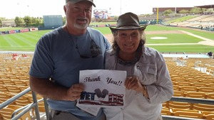 'Rubicon' Wooly attended Chicago White Sox vs. Cincinnati Reds - MLB Spring Training on Mar 7th 2018 via VetTix