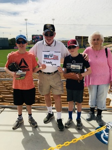 Terry attended Chicago White Sox vs. Cincinnati Reds - MLB Spring Training on Mar 7th 2018 via VetTix